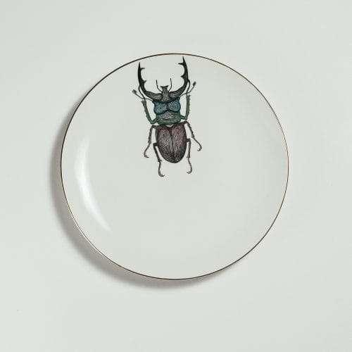 Micucci Interiors - MICUIT – BEETLE DESSERT PLATE