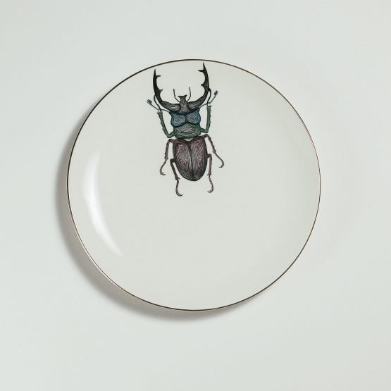 Beetle Dessert Plate-Micuit Collection