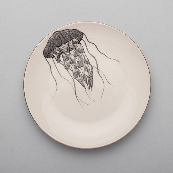 Jellyfish Dinner Plate-Micuit Collection