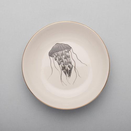 Micucci Interiors - MICUIT – JELLYFISH SOUP PLATE