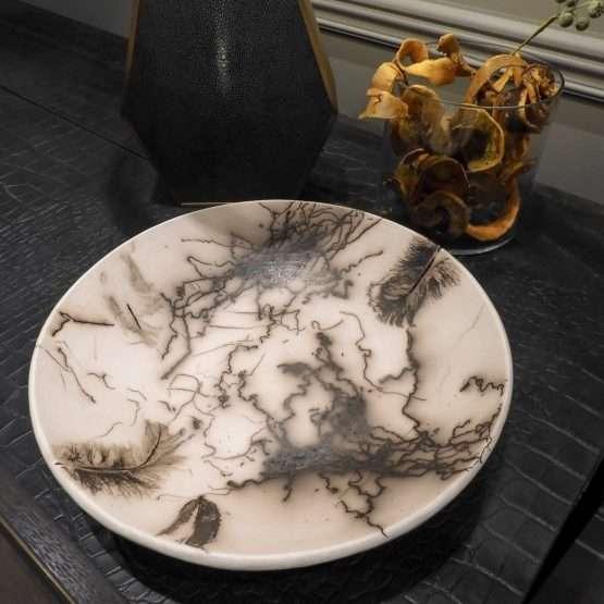 Horsehair Regular Bowl-Ceramic
