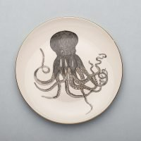 Octopus Dinner Plate-Micuit Collection
