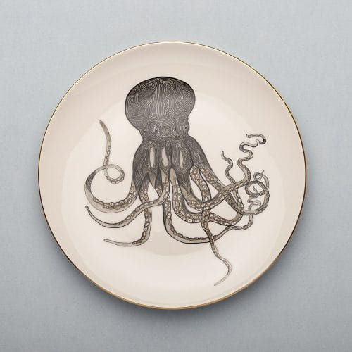 Micucci Interiors - MICUIT – OCTOPUS DINNER PLATE