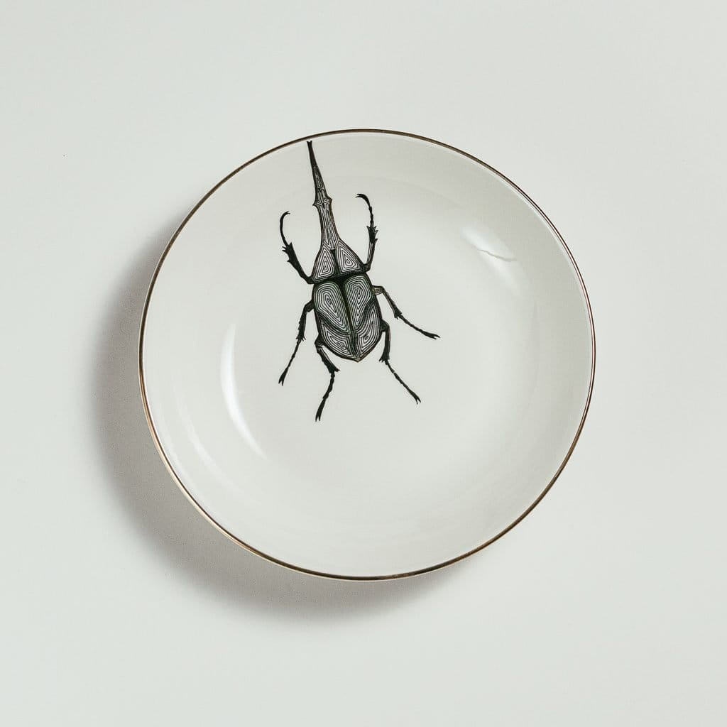 Weevil Soup Plate-Micuit Collection