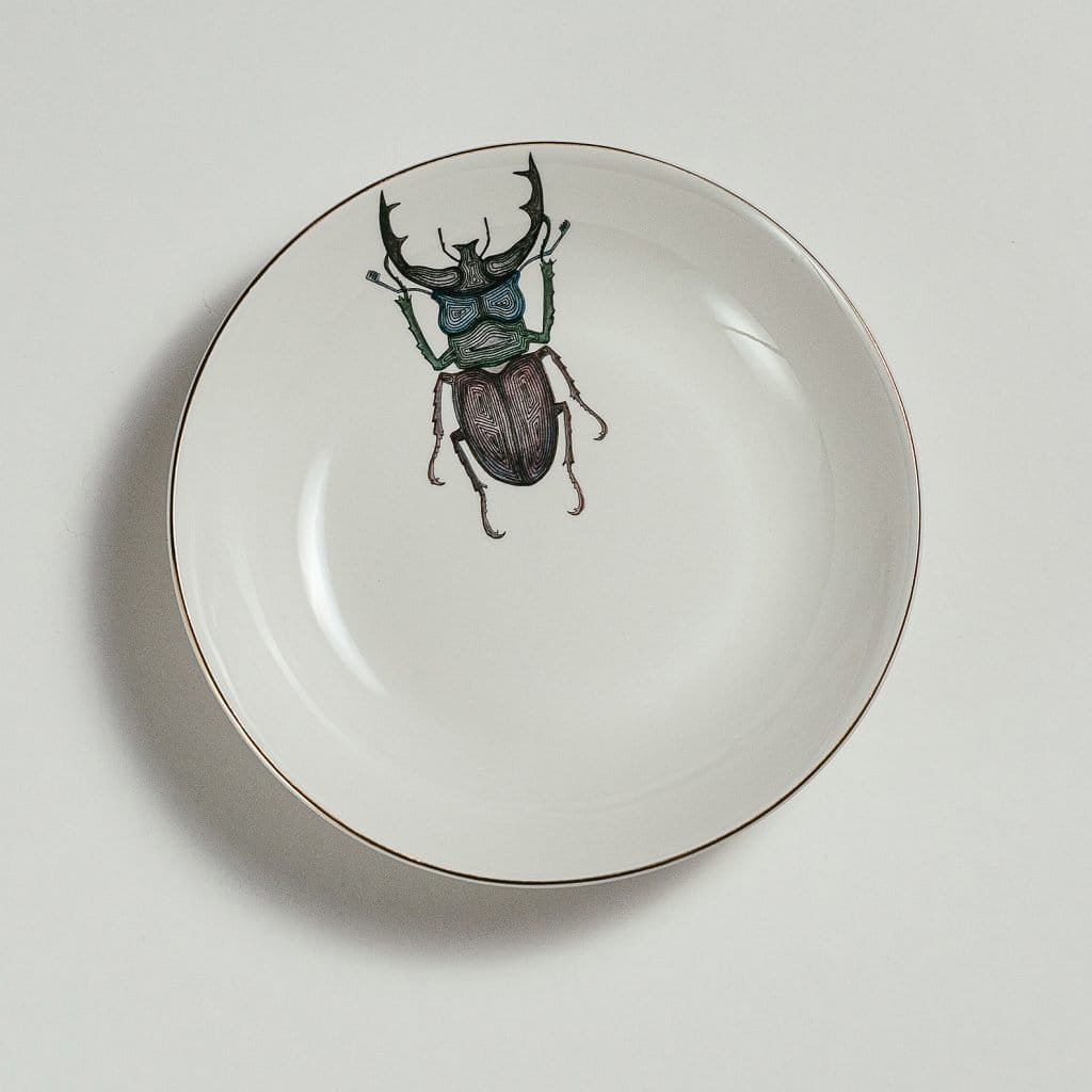 Beetle Soup Plate-Micuit Collection