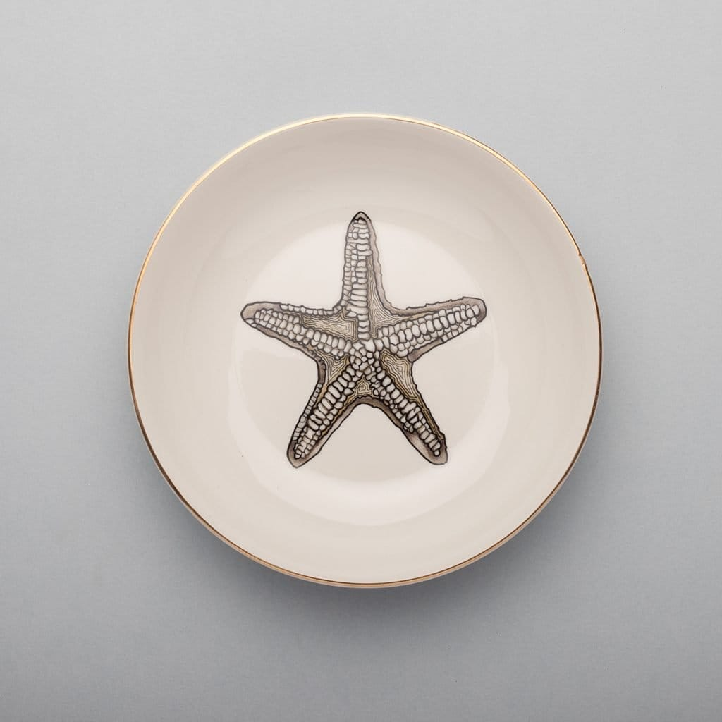 Starfish Soup Plate-Micuit Collection