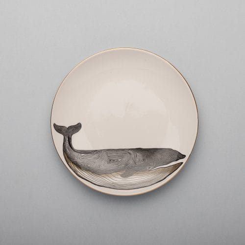 Micucci Interiors - MICUIT – WHALE DESSERT PLATE