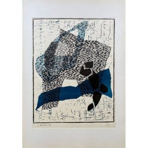 LUIGI VERONESI-Composizione 96-Collectibles Contemporary printmaker