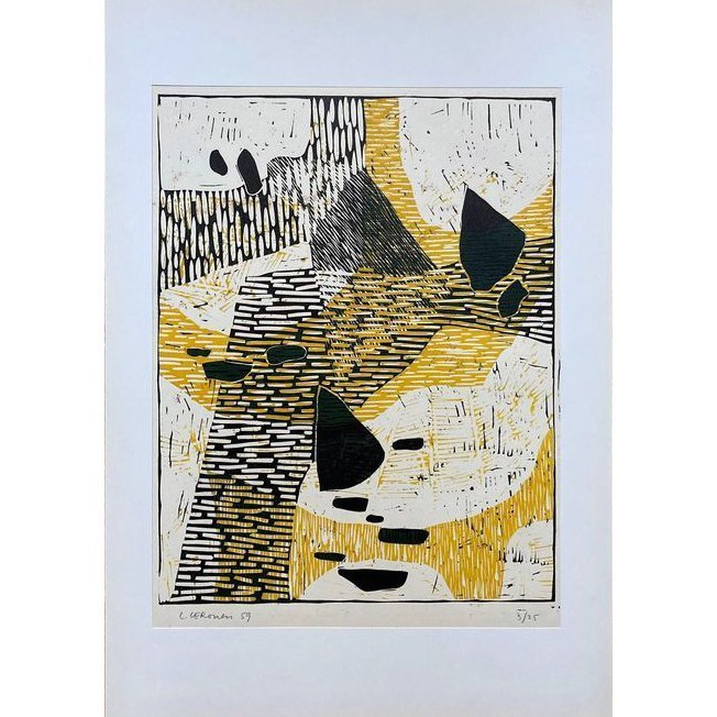 LUIGI VERONESI-Composizione 99-Collectibles Contemporary handmade