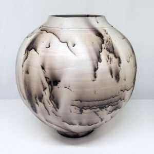 Horsehair Round Vase