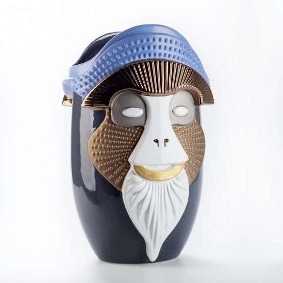 PRIMATES-Kandti Vase-Ceramic-Elena Salmistraro