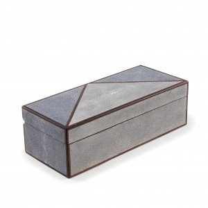 Geometric Shagreen Box