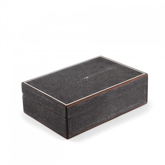 Rectangular Shagreen Box Large