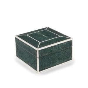 Square Shagreen Box