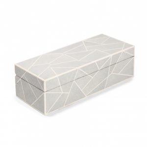 Geometric Shagreen WatchBox