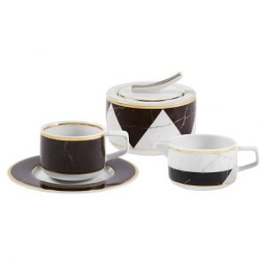 Carrara 14 Piece Coffee Set