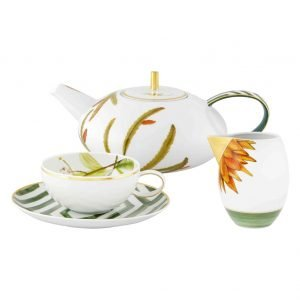 Amazonia 15 Piece Tea Set