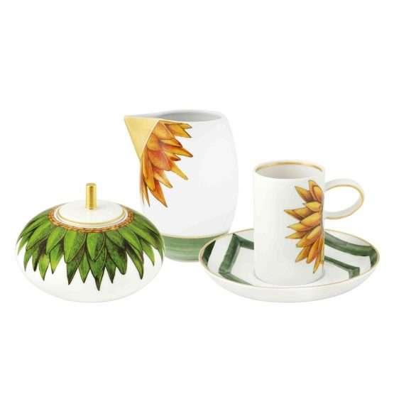 Amazonia 14 Piece Coffee Set