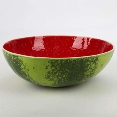 Watermelon Salad Bowl-Bordallo Pinheiro