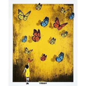 TABBY-Butterfly Girl (Yellow)-Art