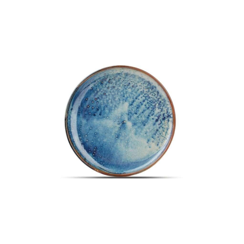 Iris-Dessert Plate-Micucci Tableware Collection