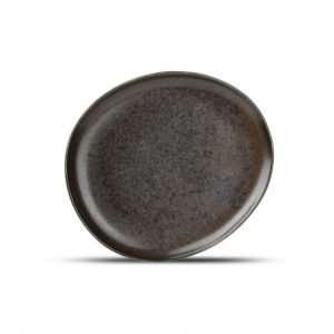 Trufo Nero-Dessert Plate-Micucci Tableware