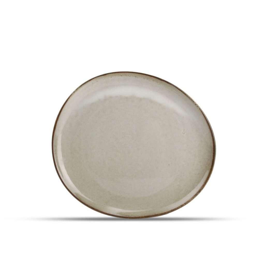 Trufo Stone-Dessert Plate-Micucci Tableware
