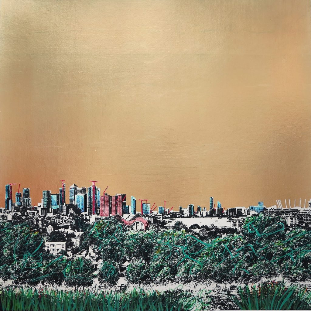 Jayson Lilley - Looking at Canary Wharf